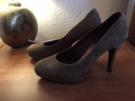 5th Avenue Pumps Khaki olivgrün 39 echtleder
