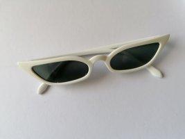 Oval Sunglasses white-black