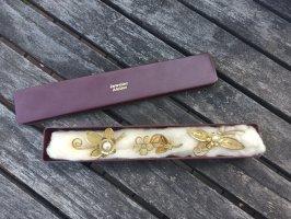 Vintage Broche zilver-goud
