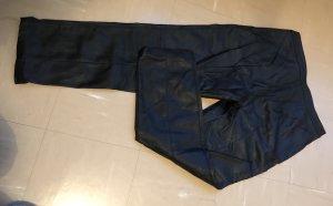 H&M Pantalón tobillero negro