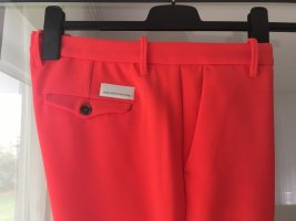 7/8 Length Trousers bright red-red polyester