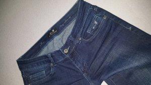 7 For All Mankind Jeans cigarette bleu
