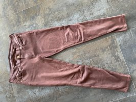 7 For All Mankind Pantalón elástico rojo amarronado