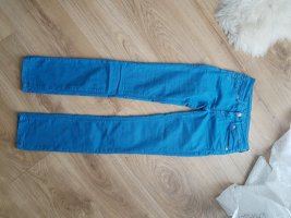 7 For All Mankind Straight Leg Jeans neon blue