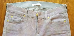 7 for all mankind Jeans, schlangenlook, 27, beige rosa