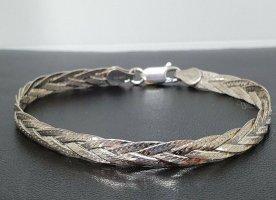 70er Modern Art 925er Silber Vintage Design Armband 925