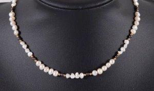 750 gold Perlenkette 18k Gold collier Perlen kette Halskette