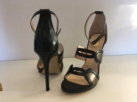 8 Hoge hakken sandalen zwart-brons