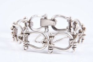 830 Silber Armband Silberarmband vintage  massiv und schwer