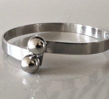 835 Silberarmreif Silber Armband Design Modern Art 70er Jahre Vintage armspange