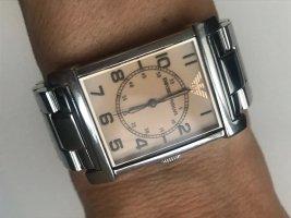 Armani Montre avec bracelet métallique argenté-beige