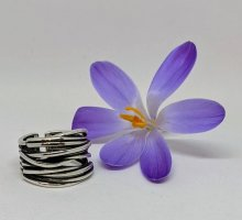 925 offener Ring Silber