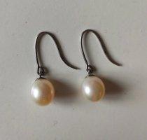 925 Silber Perlen Ohrringe Ohrhänger Sterling Echt-silber
