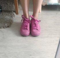 Puma Sneakers met hak roze