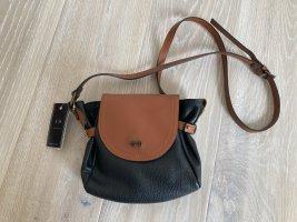 A. Bellucci Tasche crossbody schwarz cognac braun Leder