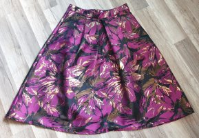 Miss Selfridge Plaid Skirt multicolored