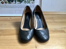 A.P.C. Mary Jane Pumps black leather