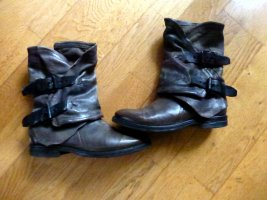 A.S.98 Airstep Stiefeletten Boots 37 Khaki Taupe