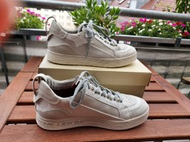 A.S.98 Basket à lacet gris clair