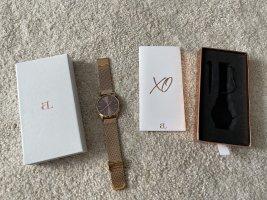 abbott lyon Montre avec bracelet métallique or rose