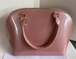 Abbott Lyon Hand Umhängetasche Bowling Bag Rosa Pink Nude Rosegold Neu