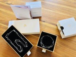Abbott Lyon Kette und Armband silber neu OVP