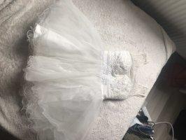 Abend-Ball-Hochzeitskleid in weiß/Creme