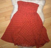 1.2.3. UN DEUX TROIS Paris Suknia wieczorowa ciemnoczerwony Jedwab