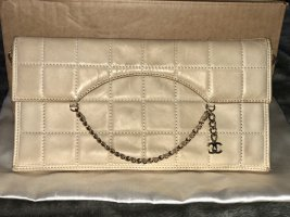 Abendtasche / Clutch in creme