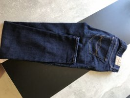 Abercrombie & Fitch Tube jeans donkerblauw