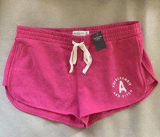 Abercrombie & Fitch Pantaloncino sport rosa-magenta