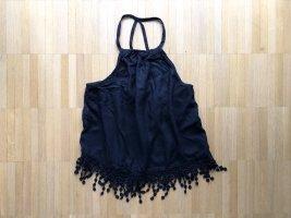 Abercrombie & Fitch Haut en crochet noir