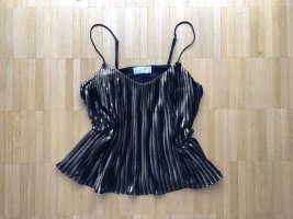 Abercrombie & Fitch Camisole Top Schwarz/ Gold XS