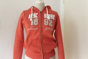 Abercrombie & Fitch Jersey con capucha naranja oscuro Algodón