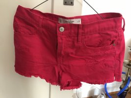 Abercrombie & Fitch Short moulant rose
