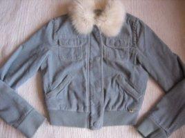 abercrombie & fitch jacke babyblau gr. xs 34 neu