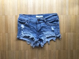 Abercrombie & Fitch Low Rise Destroyed Jeans Shorts Gr00 W24
