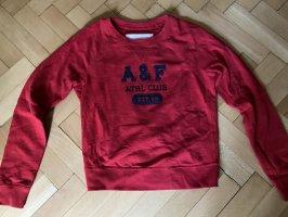 Abercrombie & Fitch Long Sweater dark red-dark blue