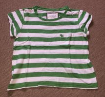 Abercrombie & Fitch T-Shirt white-green