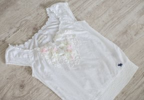 Abercrombie & Fitch Blouse Top white-natural white