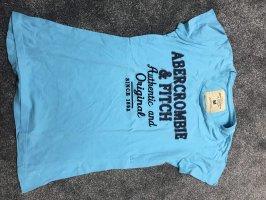 Abercrombie & Fitch T-shirt lichtblauw-korenblauw