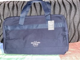 Abercrombie & Fitch Weekender Bag dark blue