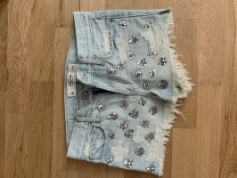 Abercrombie & Fitch Hot pants azuur
