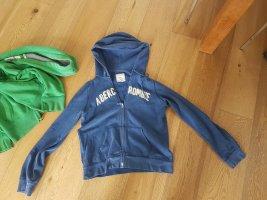 Abercrombie & Fitch Giacca fitness blu acciaio