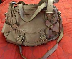 abro Crossbody bag silver-colored