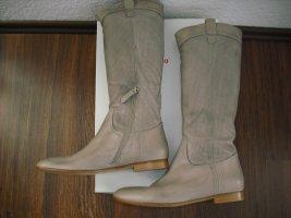 abro Platform Boots grey brown