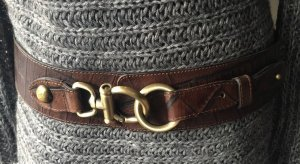 abro Leather Belt multicolored leather