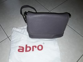 abro College Bag rose-gold-coloured leather