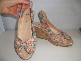 Absatzschuhe High Heels Sandalen Pumps H&M Gr.40