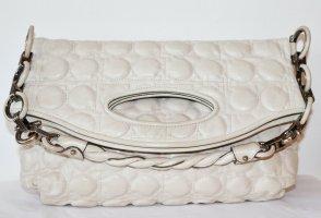 Salvatore ferragamo Clutch white leather